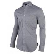 Cavallaro Napoli Jersey Overhemd Alessio Grijs (1001027 - 83103)