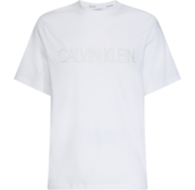 Calvin Klein T-shirt Logo Wit (K10K105166 - YBS)
