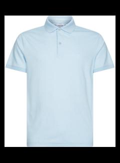 Calvin Klein Polo Slim Fit Lichtblauw (K10K105182 - DU6)