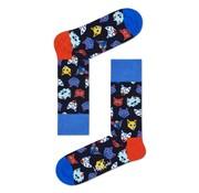 Happy Socks Funny Cat Navy (FCA01 - 6300)