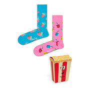 Happy Socks Gift Box 2 Pack Snacks Rood (XSNA02 - 4300)