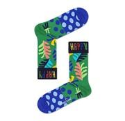 Happy Socks Big Leaf Groen (BLE01 - 7300)