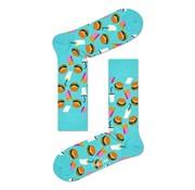 Happy Socks Hamburger Groen (HAM01 - 7300)