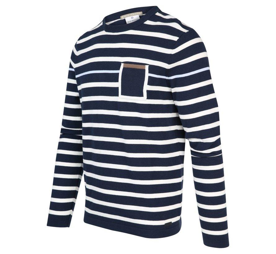 Pullover Indigo Indigo Blauw (KBIS20 - M16)
