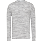 Tommy Hilfiger Longsleeve T-shirt Mini Waffle Wit (DM0DM06957 - YBR)