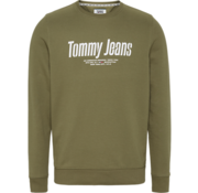 Tommy Hilfiger Sweater Logo Tommy Jeans Olive (DM0DM08132 - L8Q)