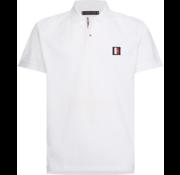 Tommy Hilfiger Polo met Badge Wit (MW0MW13077 - YBR)