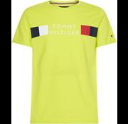 Tommy Hilfiger T-shirt Logo Lime Groen (MW0MW13330 - LRE)