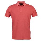 Lerros Poloshirt met korte mouw regular fit havana red (2933203 - 347 - HAVANA RED)