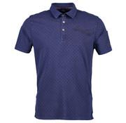 Lerros Poloshirt met korte mouw regular fit vintage blue (2933271 - 474 - VINTAGE BLUE)