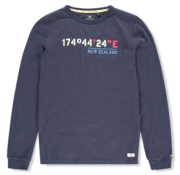 New Zealand Auckland Sweater Kaihu Navy Blauw (20AN700 - 267)