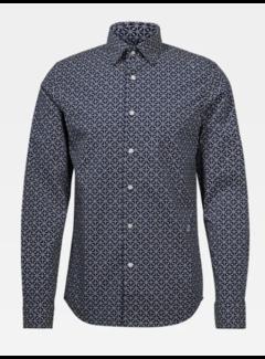 G-star Overhemd Slim Fit Navy Print (D16171 - C173 - 6105)