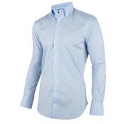 Cavallaro Napoli Overhemd Pietro Licht Blauw Stippen (1001020 - 10615)O