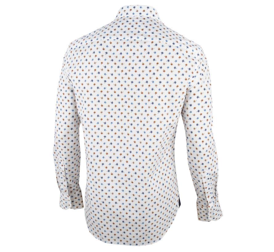 Overhemd Callisto Wit Print (1001067 - 63000)O