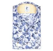 R2 Amsterdam Overhemd Extra Mouwlengte Blauw (108.WSP.XLS.030 - 014)