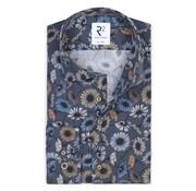 R2 Amsterdam Overhemd Extra Mouwlengte Blauw (108.WSP.XLS.083 - 014)