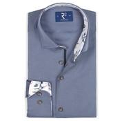 R2 Amsterdam Overhemd Blauw (106.WSP.142 - 012)