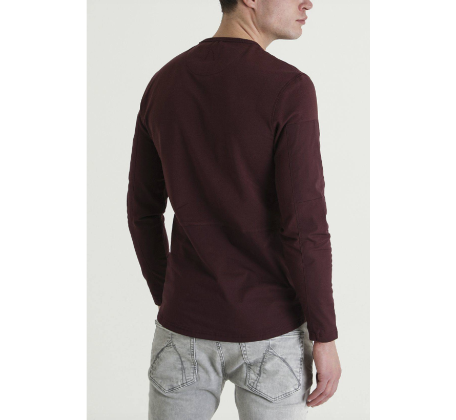 Spear Longsleeve T-Shirt Bordeaux (5111400030 - E41)