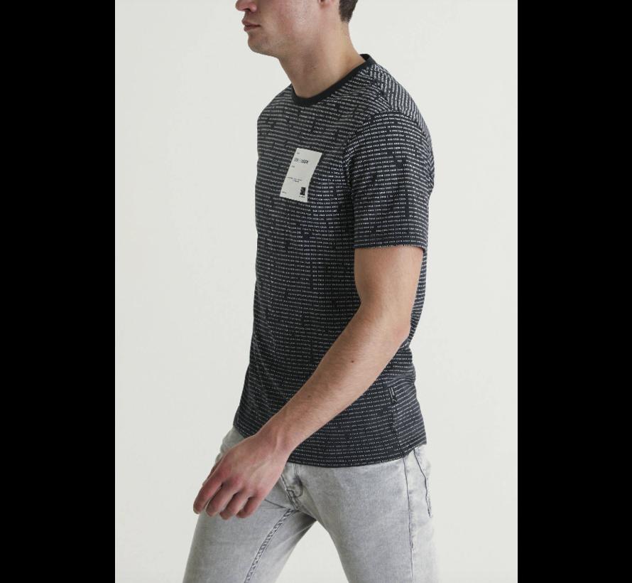 T-Shirt Rabor Zwart Print (5211400098 - E90)