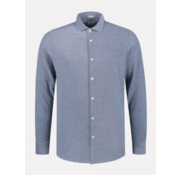 Dstrezzed Overhemd Slim Fit Blauw (303321 - 625)