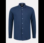 Dstrezzed Overhemd Slim Fit Navy Blauw (303321 - 649)