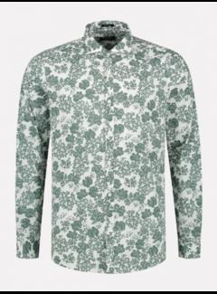 Dstrezzed Overhemd Slim Fit Print Groen (303330 - 525)