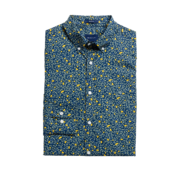 Gant Overhemd Regular Fit Print Navy (3025730 - 461)