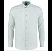 Dstrezzed Overhemd Slim Fit Gestreept Groen (3032620 - 689)