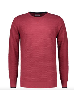 Dstrezzed Pullover Structuur Rood (404194 - 421)