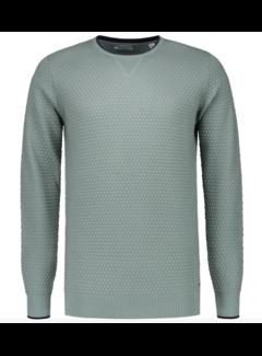 Dstrezzed Pullover Structuur Blauw/Groen (404194 - 689)