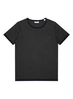 Dstrezzed T-shirt Gestreept Army Groen (404222 - 524)
