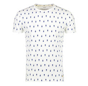 New In Town t-shirt close fitting broken white (8023016 - 103)