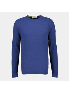 New In Town pullover close fitting blue (8025020 - 472)