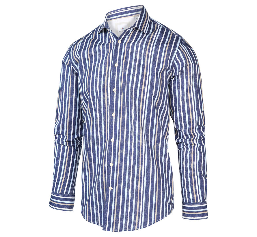 Overhemd Streep Blauw (2019.21)