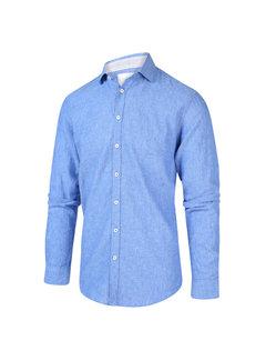 Blue Industry Overhemd Blauw (2043.21)