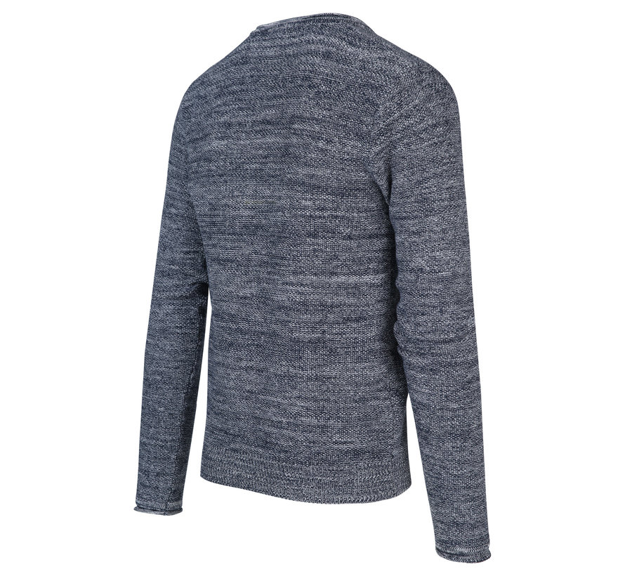 Pullover Gemêleerd Indigo Blauw (KBIS20 - M19 - Indigo)