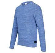 Blue Industry Pullover Gemêleerd Cobalt Blauw (KBIS20 - M19 - Cobalt)