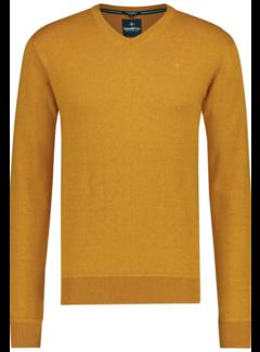 Haze&Finn Pullover V-Hals Oranje (MC14-0220 - PumpkinSpice)