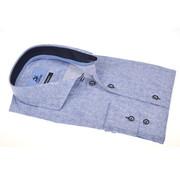 Culture Overhemd Print Blauw (215301 - 34)