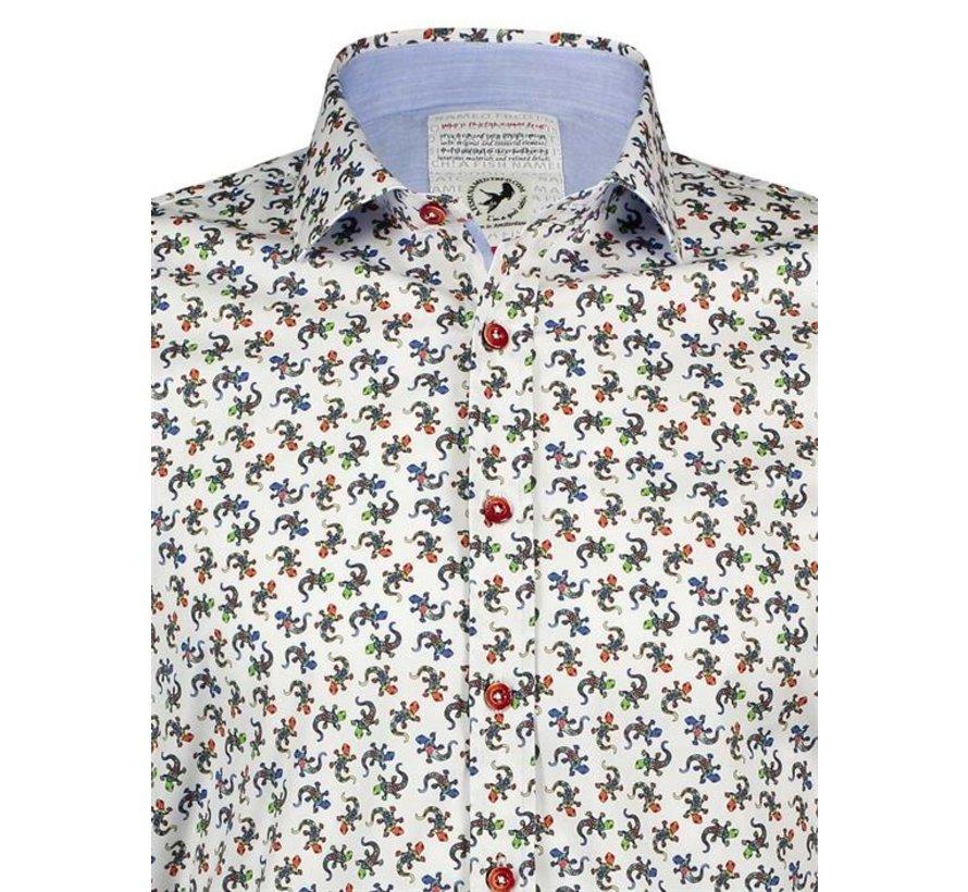 Overhemd Salamanders Wit (20.01.012)