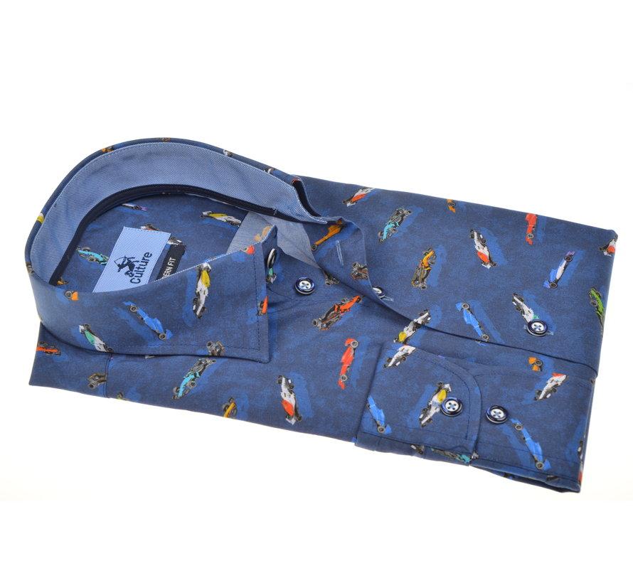 Overhemd F1 Blauw (215211 - 38)