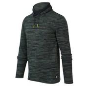Blue Industry Sweater met Col Groen (KBIS20 - M5 - Green)