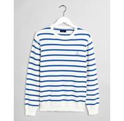 Gant Sweater Gestreept Blauw/Wit (8000109 - 113)