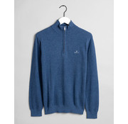 Gant Trui Half-Zip Denim Blue Melange (8030523 - 906)