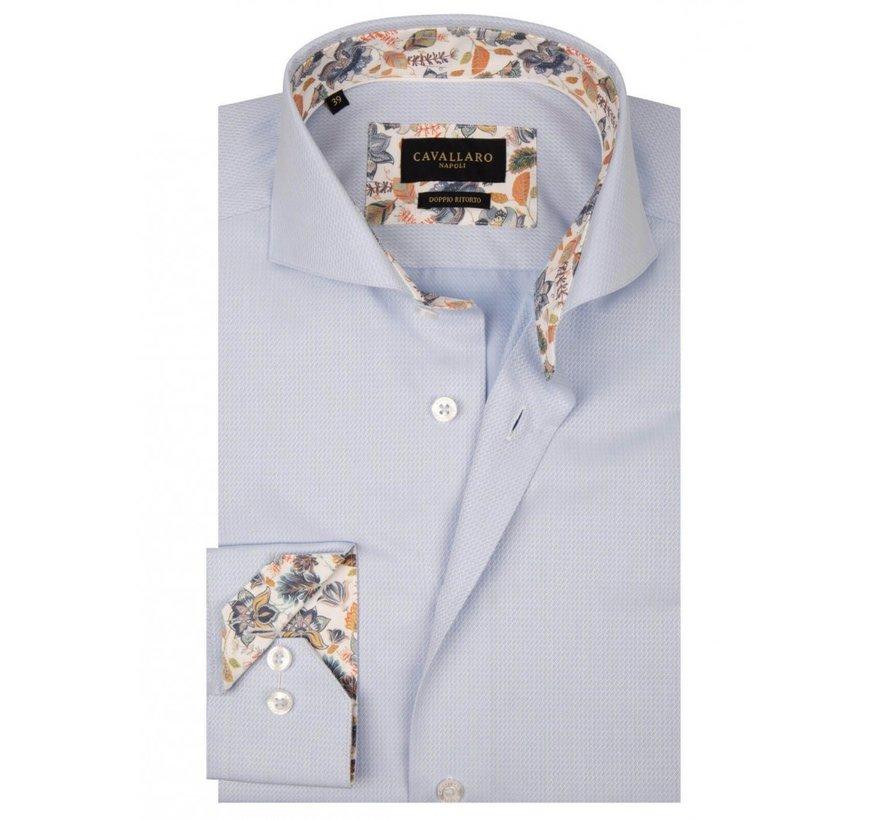 Overhemd Ferro Structuur Lichtblauw (1001059 - 61000)