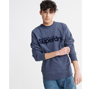 Superdry Sweater Logo Blue Marl (M2010106A - BCY)