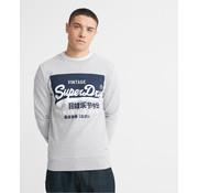 Superdry Sweater Logo Grey Marl (M2010153A - 07Q)