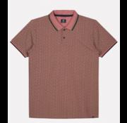 Dstrezzed Korte Mouw Polo Angle Roze (202514 - 434)