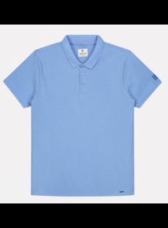 Dstrezzed Korte Mouw Polo Mini Dot Blauw (202548 - 625)