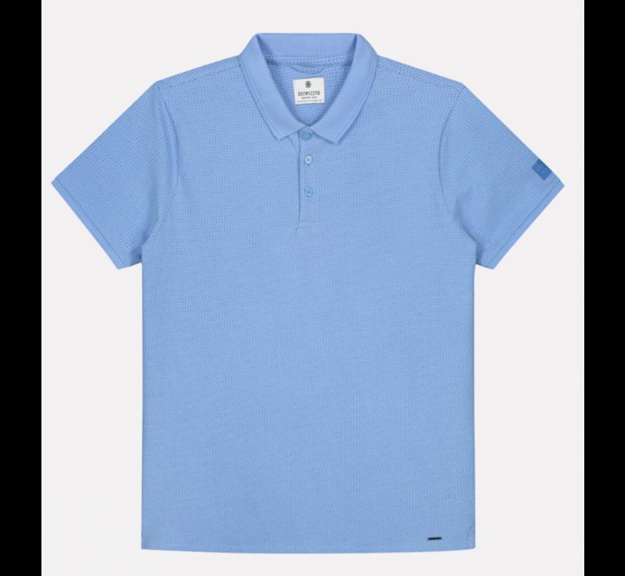 Korte Mouw Polo Mini Dot Blauw (202548 - 625)